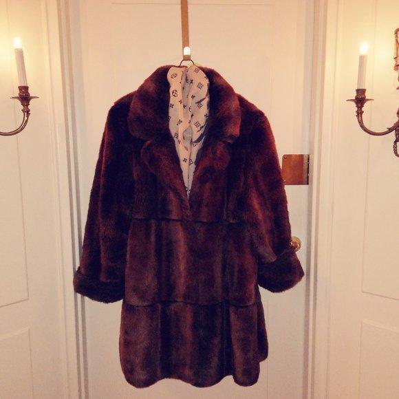 Ladies' Faux Fur Coat
